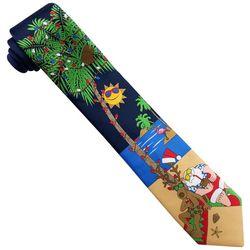 Hallmark Mens Santa & Reindeer Beach Tie