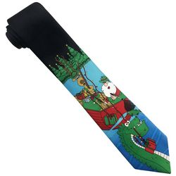 Hallmark Mens Santa Fishing Tie