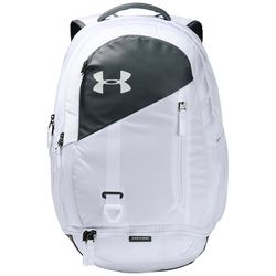 Under Armour UA Hustle 4.0 White Backpack
