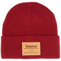 Timberland Mens Short Watch Knit Beanie Hat