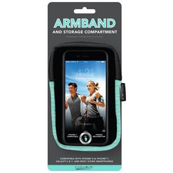 FormFit Dyed Cell Phone Armband and Storage Compartment