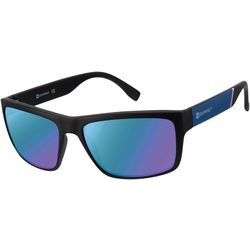 Southpole Mens Ombre Rectangle Sunglasses