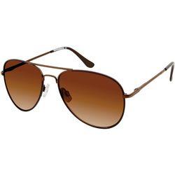Unionbay Mens Metal Aviator Sunglasses