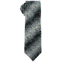 Van Heusen Mens Shaded Vine Print Tie