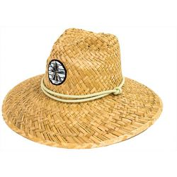 Peter Grimm Headwear Palm Tree Lifeguard Straw Hat