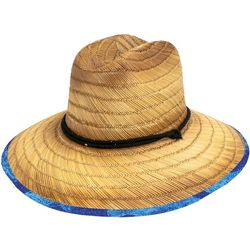 Peter Grimm Headwear Sea School Lifeguard Straw Hat
