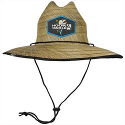 Hook and Tackle Mens Lifeguard Tuna Straw Hat