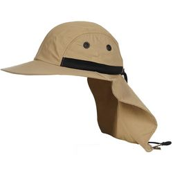 Hook and Tackle Mens Bimini Flats Fishing Sun Hat