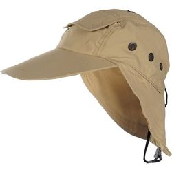 Hook and Tackle Mens Bahama Flats Air/X Fishing Hat