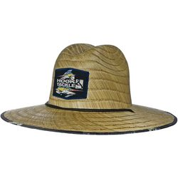 Hook and Tackle Mens Lifeguard Marlin Straw Hat