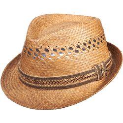 Dorfman Pacific Mens Vented Fedora Hat