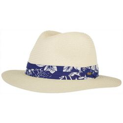 Scala Mens Braided Raffia Palm Safari Hat