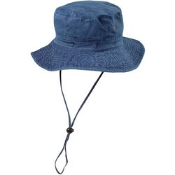 Dorfman Pacific Mens Pigment Dyed Twill Bucket Hat
