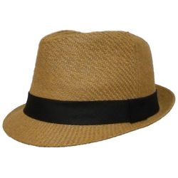 St. Johns Bay Mens Toyo Fedora Hat