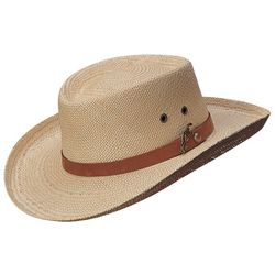 Scala Mens Palm Gambler Hat