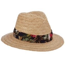 Scala Mens Raffia Safari Hat