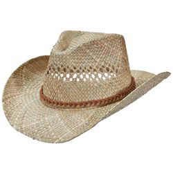 Dorfman Pacific Mens Seagrass Outback Hat