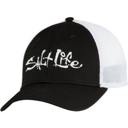 Salt Life Mens Fish Dive and Surf Stretch Fit Hat
