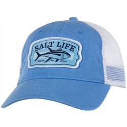 Salt Life Mens Tuna Badge Mesh Trucker Hat