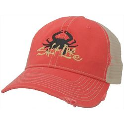 Salt Life Mens Get Hammered Mesh Trucker Hat