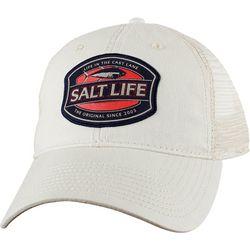 Salt Life Mens Life In The Cast Lane Trucker Hat