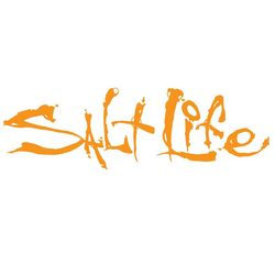 Salt Life Orange Signature Decal