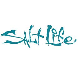Salt Life Teal Signature Decal