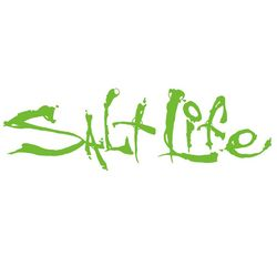 Salt Life Lime Signature Decal