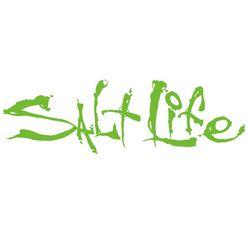 Salt Life Lime Signature Decal