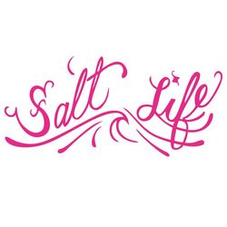 Salt Life Signature OG Pink Logo Decal