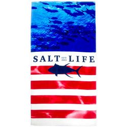 Salt Life Respect Beach Towel