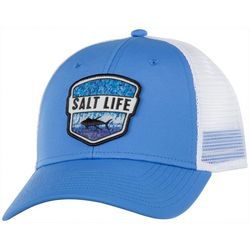 Salt Life Mens Water Skins Badge Hat
