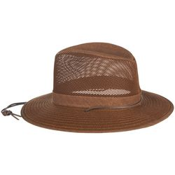 Brown Aussie Breezer Mesh Hat