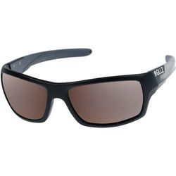 Gillz Mens Slam Polarized Solid Sunglasses