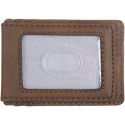 Levi's Mens Magnetic Slim Front Pocket Wallet