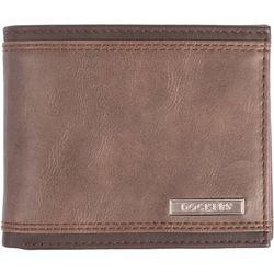 Dockers Mens RFID-Blocking Slim Fold Wallet