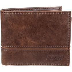Levi's Mens RFID-Blocking Extra Cap Slim Fit Wallet