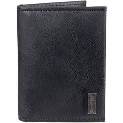 Levi's Mens RFID-Blocking Bi-fold Wallet with Magnetic Clip