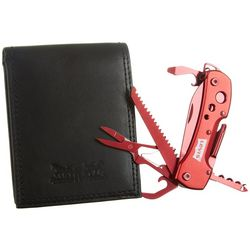 Levi's Mens RFID Protection Wallet with Deluxe Multi-Tool