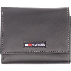 Tommy Hilfiger Mens Spencer Extra Capacity Tri-Fold Wallet