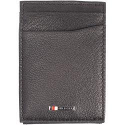 Tommy Hilfiger Mens Lloyd Magnetic Front Pocket Wallet
