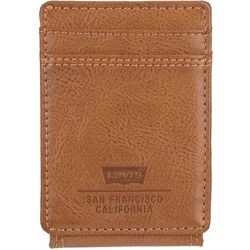 Levi's Mens RFID-Blocking Magnetic Front Pocket Wallet