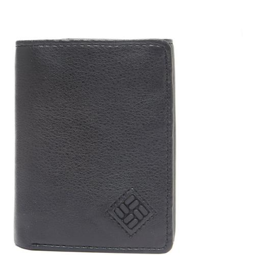 8ce149d5006b4 Columbia Mens Leather Trifold Closure RFID-Blocking Wallet