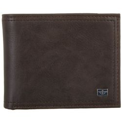 Dockers Mens RFID-Blocking Added Capacity Slim Fold Wallet
