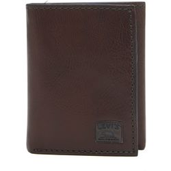 Levi's Mens RFID-Blocking Trifold Wallet