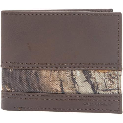 a080d619aaa5 Realtree Mens Camo Extra Capacity Slim RFID Wallet