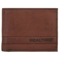 Realtree Mens Camouflage Trifold Wallet