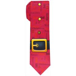 Knotty & Nice Mens Santa Belt Tie