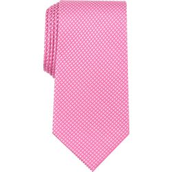 Perry Ellis Mens Andy Mini Grid Print Tie