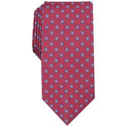 Bespoke Mens Kilton Neat Square Print Tie